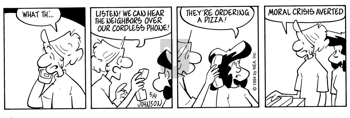 Arlo and Janis - Monday May 9, 1994 Comic Strip