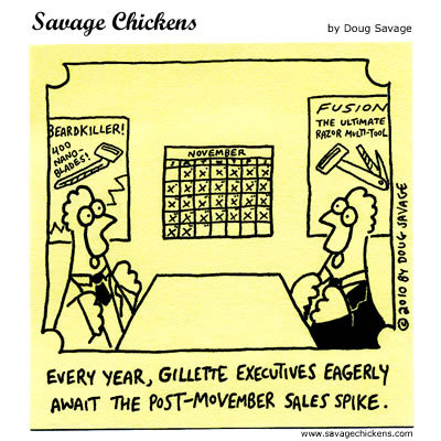 Savage Chickens Comic Strip for November 28, 2014