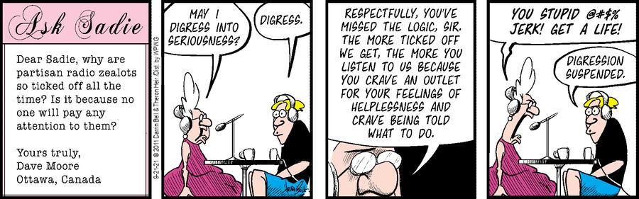 Rudy Park Comic Strip for September 21, 2021
