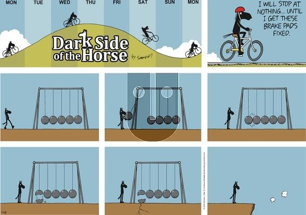 Dark Side of the Horse on Sunday November 8, 2020 Comic Strip
