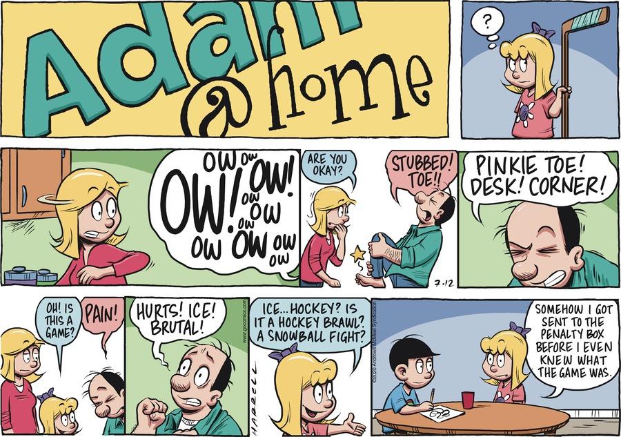 Adam@Home Comic Strip for July 12, 2020