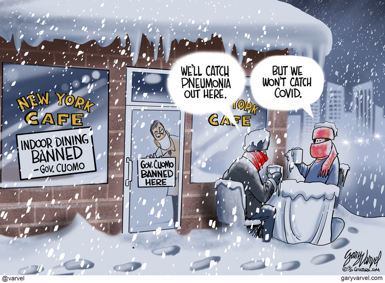 Gary Varvel Comic Strip for December 21, 2020