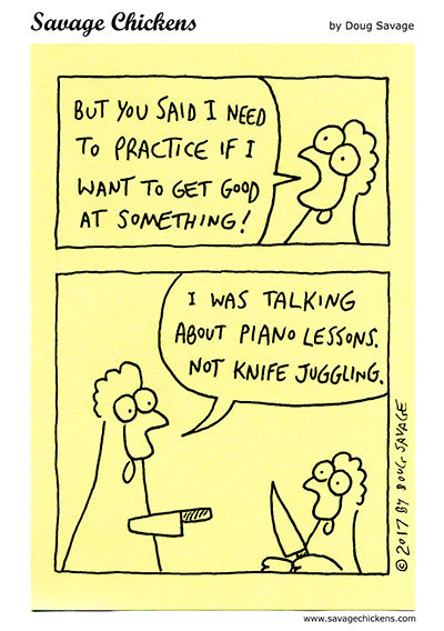 Savage Chickens Comic Strip for June 18, 2021