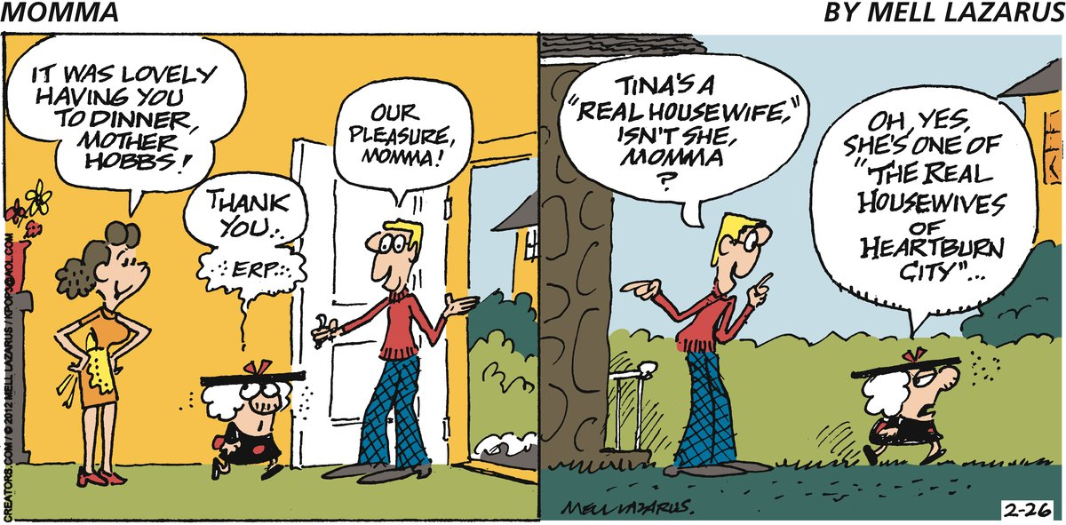 Momma for Feb 26, 2012 Comic Strip