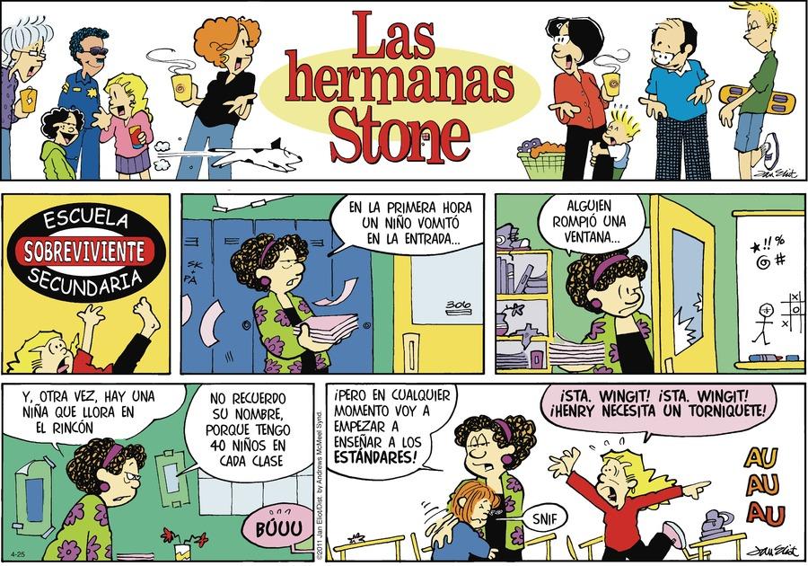 Las Hermanas Stone by Jan Eliot on Sun, 25 Apr 2021