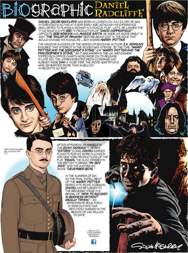Biographic on Sunday June 12, 2011 Comic Strip