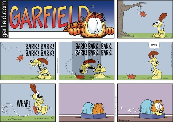 Garfield on Sunday November 3, 2019 Comic Strip