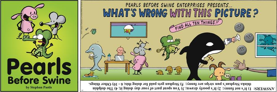 Pearls Before Swine Comic Strip for April 02, 2017