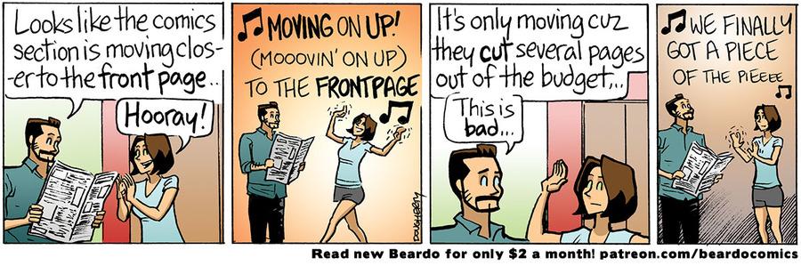 Beardo Comic Strip for July 15, 2021