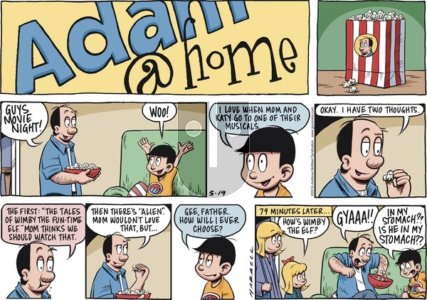 Adam@Home on Sunday May 19, 2019 Comic Strip