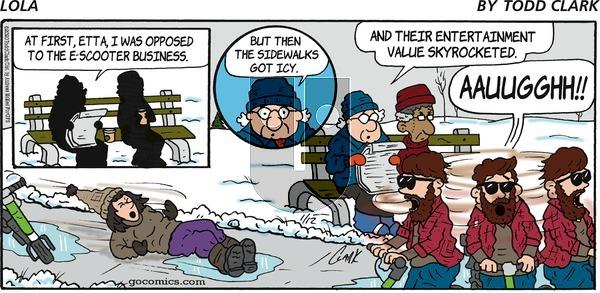 Lola - Sunday January 12, 2020 Comic Strip