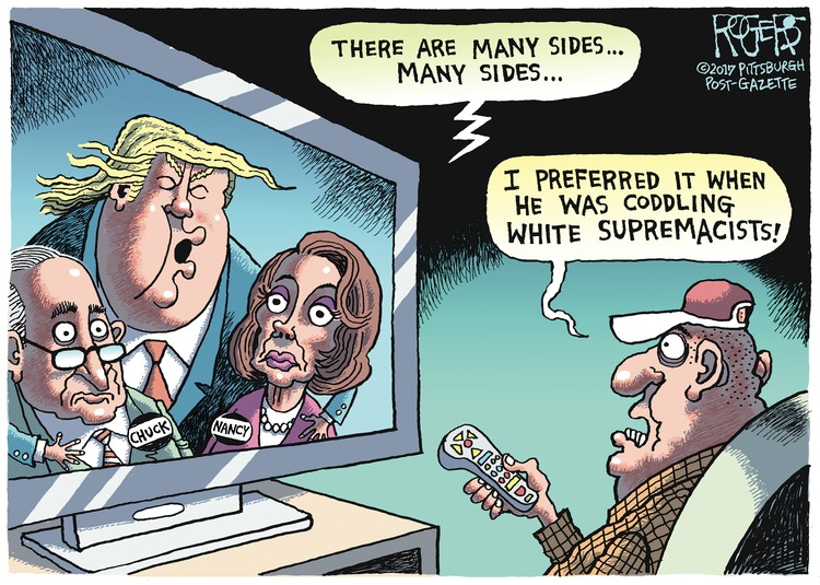 Rob Rogers Comic Strip for September 17, 2017
