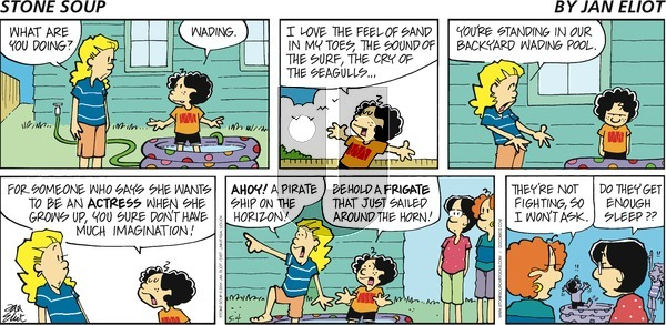 Stone Soup - Sunday May 4, 2014 Comic Strip