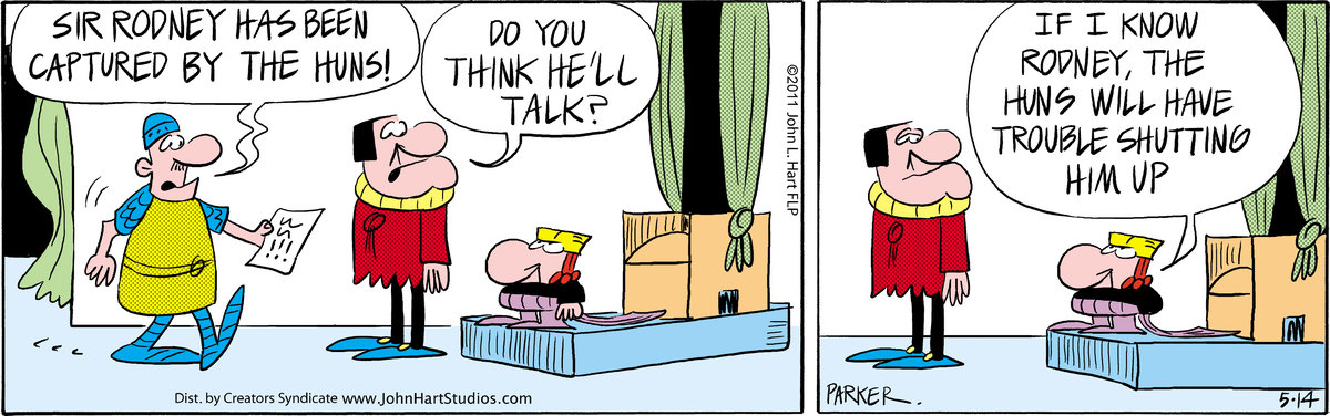 Wizard of Id Comic Strip for May 14, 2011