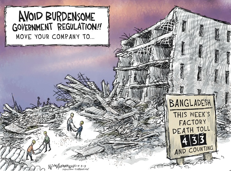 Nick Anderson for May 3, 2013 Comic Strip