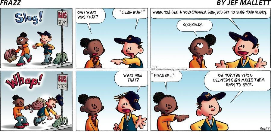 Frazz for Nov 17, 2013 Comic Strip