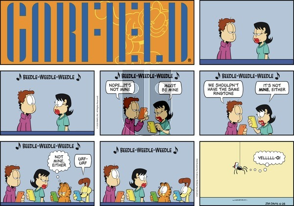 Garfield on Sunday June 28, 2020 Comic Strip