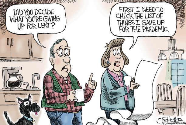 Joe Heller Comic Strip for February 16, 2021