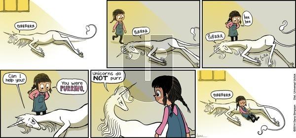 Phoebe and Her Unicorn on Sunday November 18, 2012 Comic Strip
