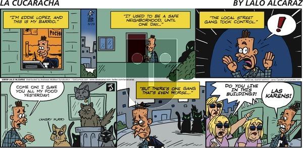 La Cucaracha on Sunday August 29, 2021 Comic Strip