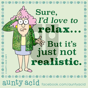 Aunty Acid - Thursday December 19, 2019 Comic Strip
