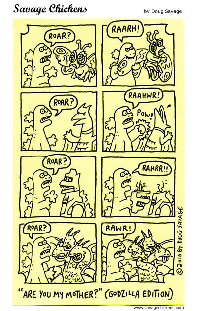 Savage Chickens Comic Strip for November 21, 2014