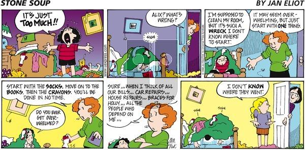 Stone Soup on Sunday July 5, 1998 Comic Strip