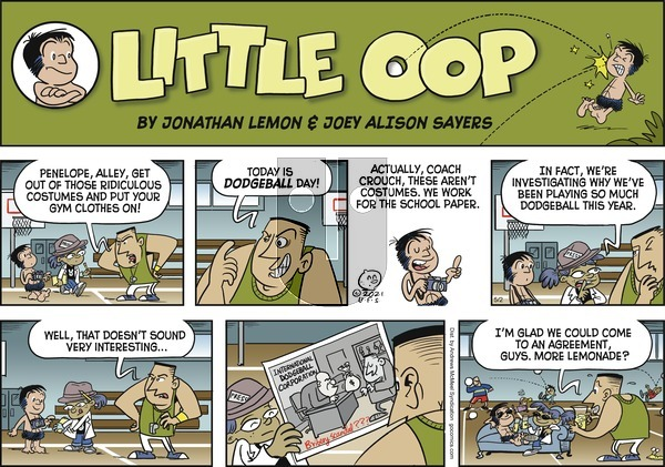 Alley Oop on Sunday May 2, 2021 Comic Strip