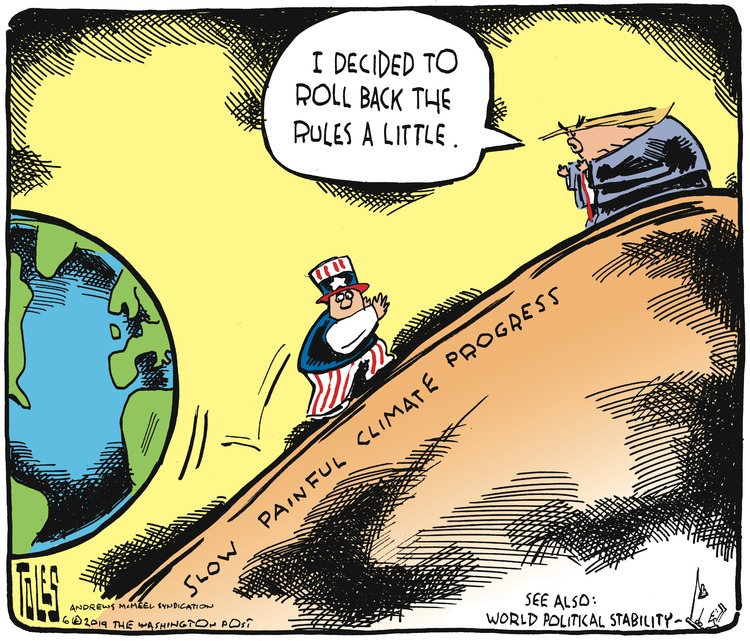 Tom Toles Comic Strip for June 23, 2019