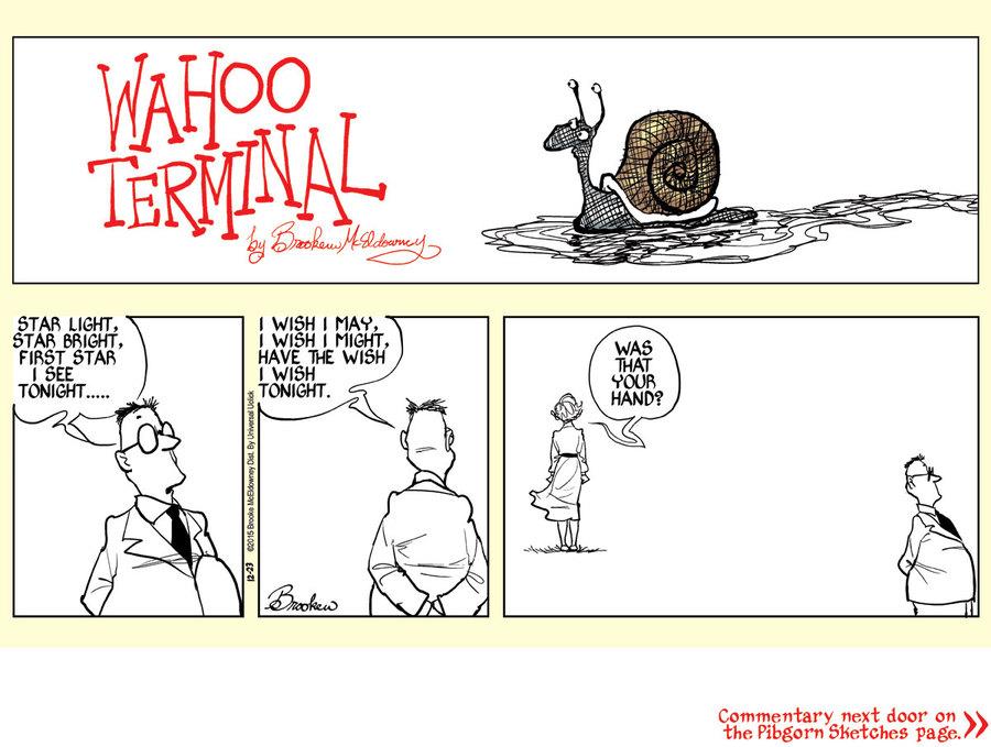 Pibgorn Comic Strip for December 23, 2015
