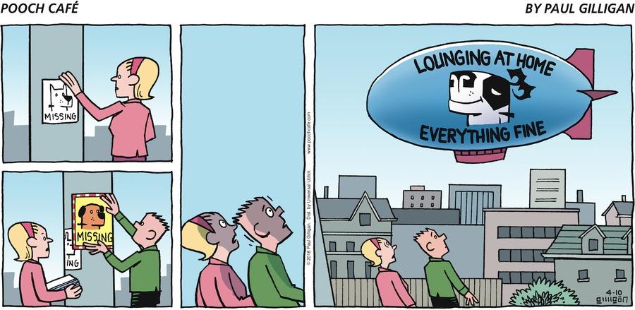 Pooch Cafe Comic Strip for April 10, 2016