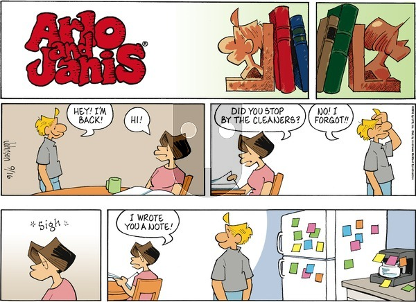 Arlo and Janis on September 16, 2018 Comic Strip