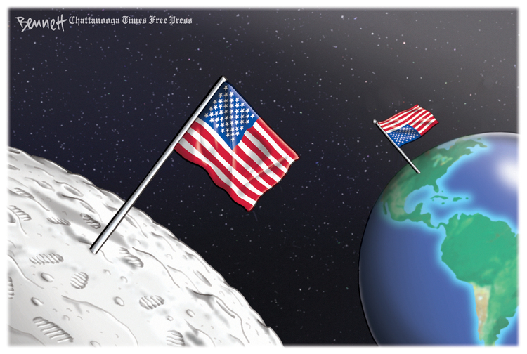 Clay Bennett Comic Strip for July 18, 2019
