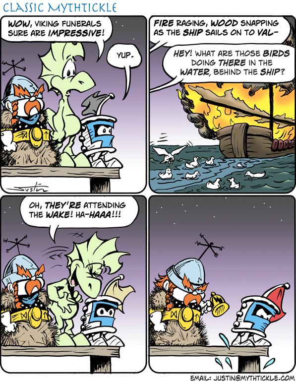 MythTickle for Apr 5, 2013 Comic Strip