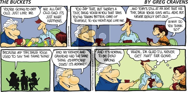 The Buckets on Sunday November 17, 2019 Comic Strip