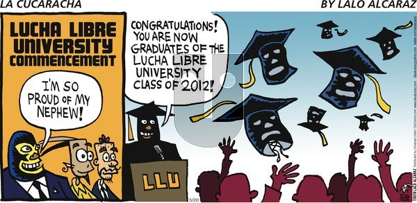 La Cucaracha on Sunday May 20, 2012 Comic Strip