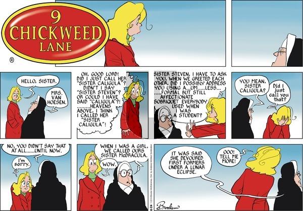 9 Chickweed Lane - Sunday November 24, 2019 Comic Strip