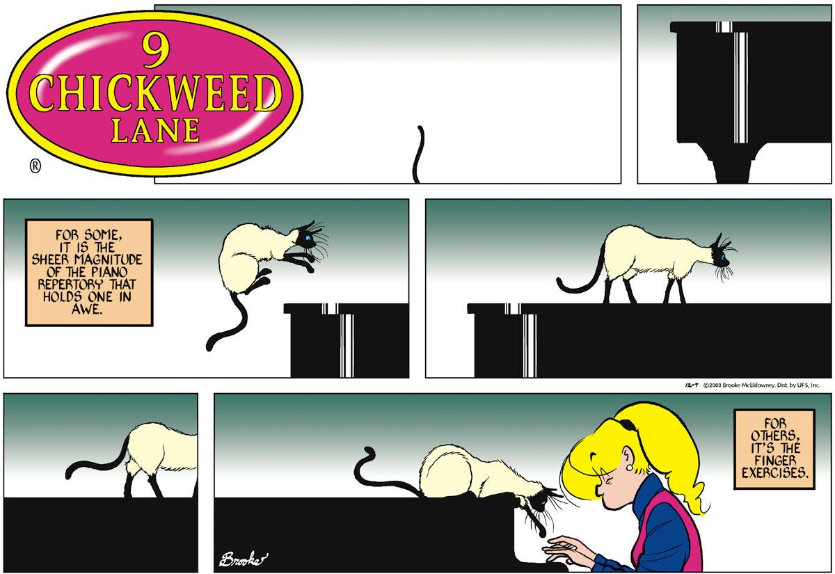 9 Chickweed Lane for Dec 7, 2003 Comic Strip
