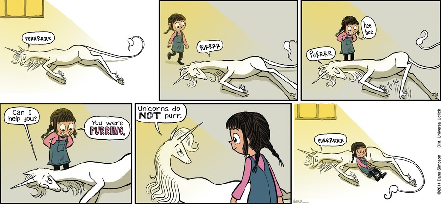 Phoebe and Her Unicorn Comic Strip for November 18, 2012
