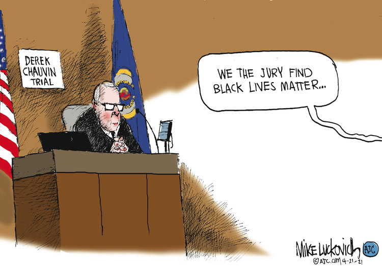 Mike Luckovich by Mike Luckovich on Wed, 21 Apr 2021