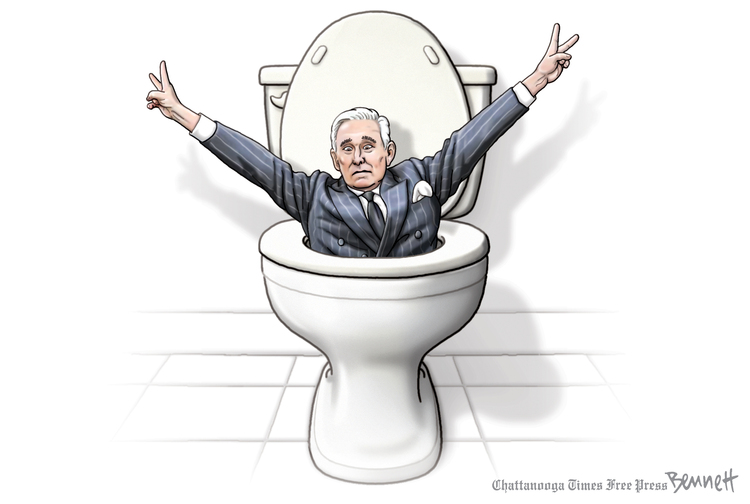 Clay Bennett by Clay Bennett on Sat, 16 Nov 2019