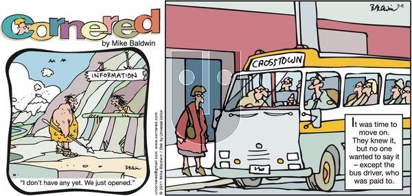 Cornered on Sunday March 6, 2011 Comic Strip