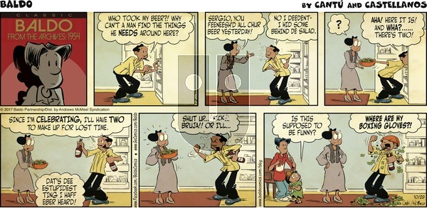 Baldo on Sunday October 29, 2017 Comic Strip