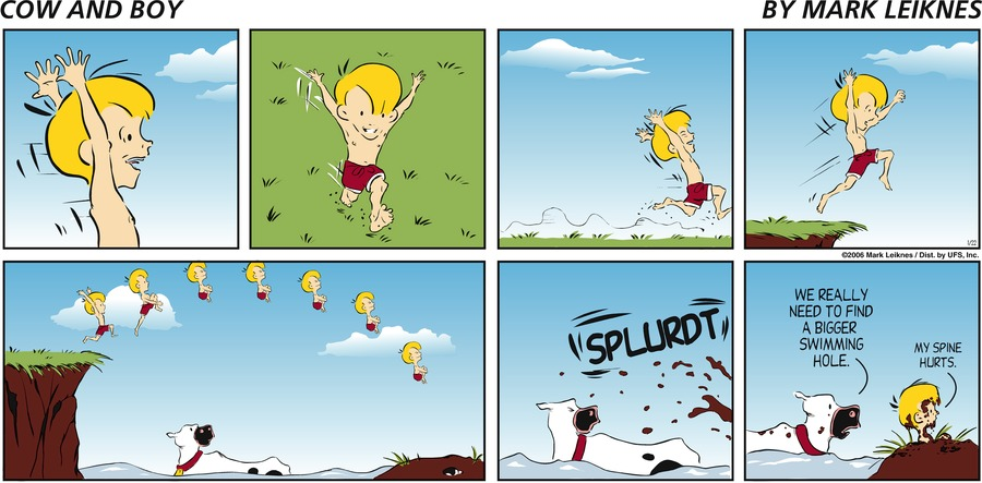 Cow and Boy Classics Comic Strip for September 11, 2019