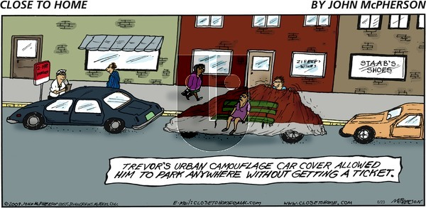 Close to Home on Sunday June 23, 2019 Comic Strip