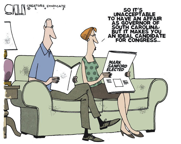Steve Kelley for May 9, 2013 Comic Strip