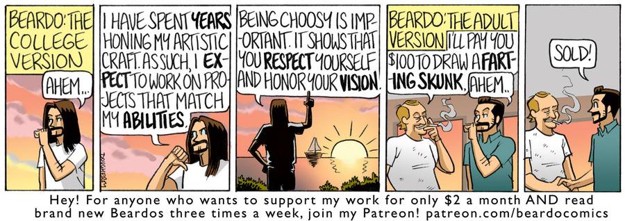 Beardo Comic Strip for September 18, 2020