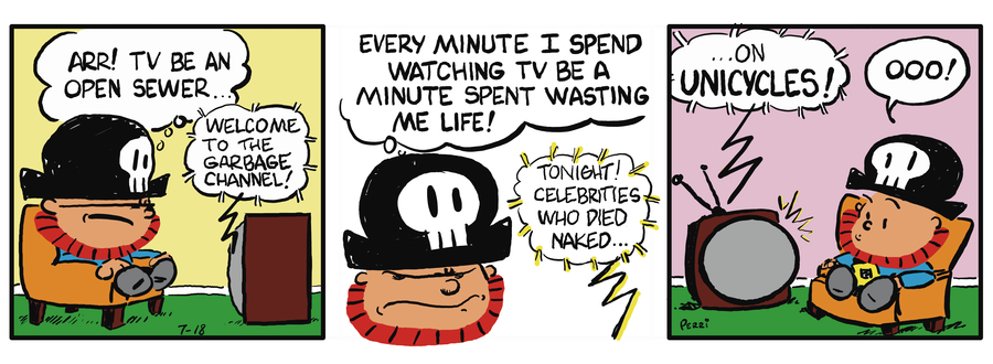 Pirate Mike Comic Strip for March 15, 2019