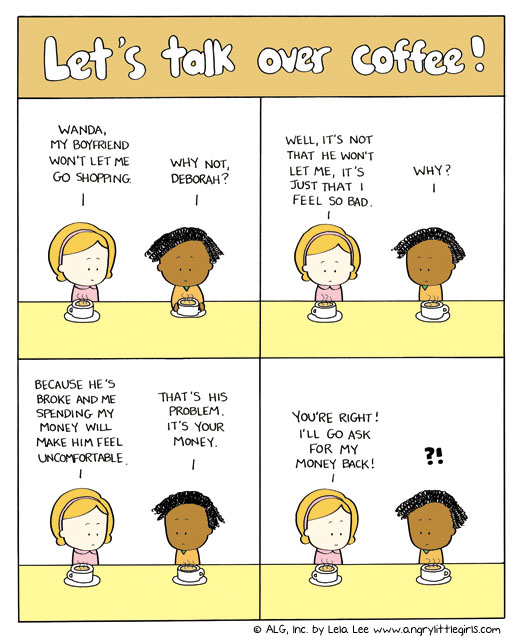 Angry Little Girls for Nov 3, 2011 Comic Strip
