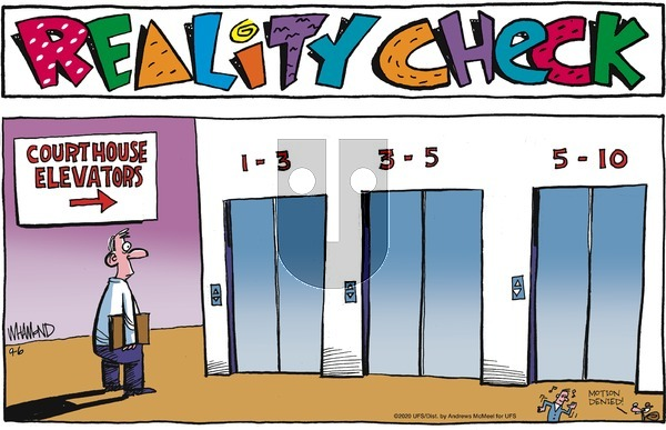 Reality Check on Sunday September 6, 2020 Comic Strip